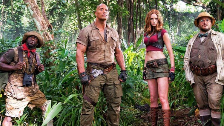 Jumanji: Welcome To The Jungle Trailer (Quick Reaction)