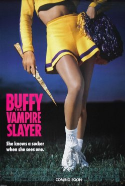 buffy vampire slayer movie poster