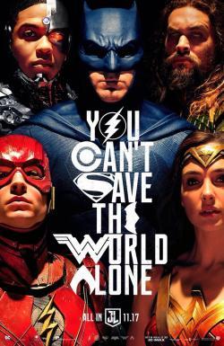 justice league poster sdcc