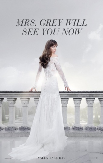 fifty shades freed poster