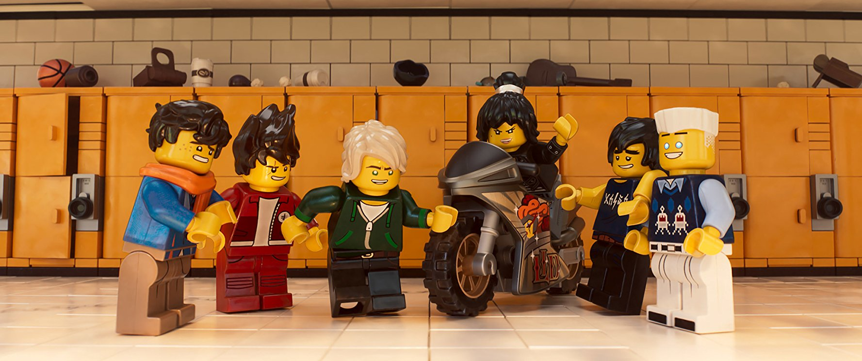 Picking Up the Spare: The LEGO Ninjago Movie, Brad's Status, mother!
