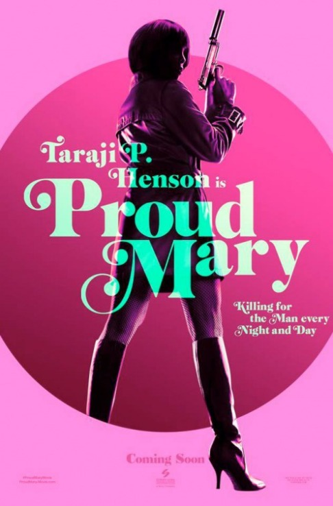 proud mary poster 2