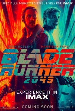 blade runner 2049 poster imax