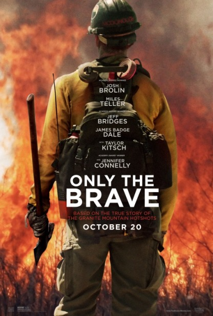 only the brave poster 1