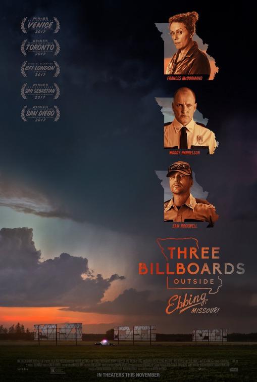 three billboards poster 2