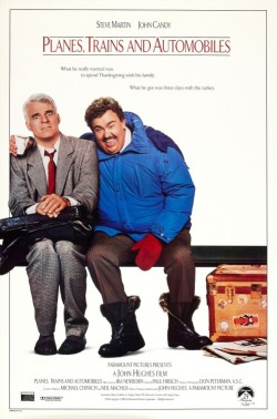 planes trains automobiles poster