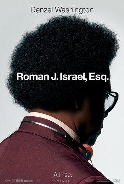 roman j israel poster