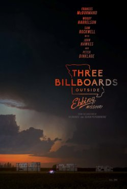 three billboards poster 1