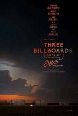 three billboards poster 1