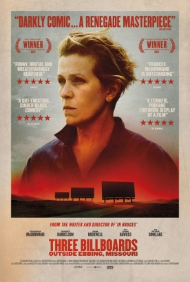 three billboards poster 4