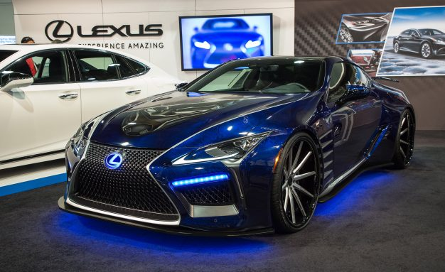 lexus black panther