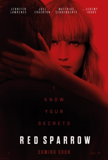 red sparrow poster 2