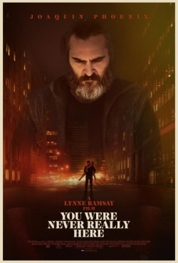 you were never really here poster 2