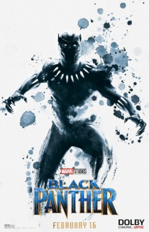 black panther poster dolby