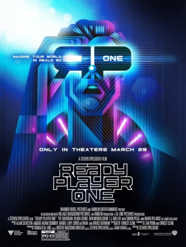 ready player one poster real 3d