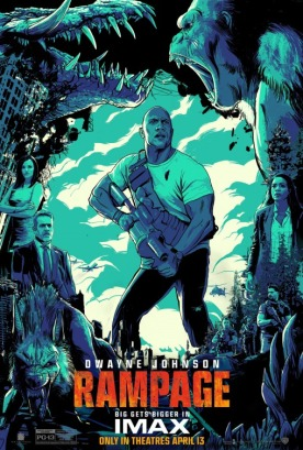 rampage poster imax