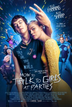 how to talk to girls at parties poster 2