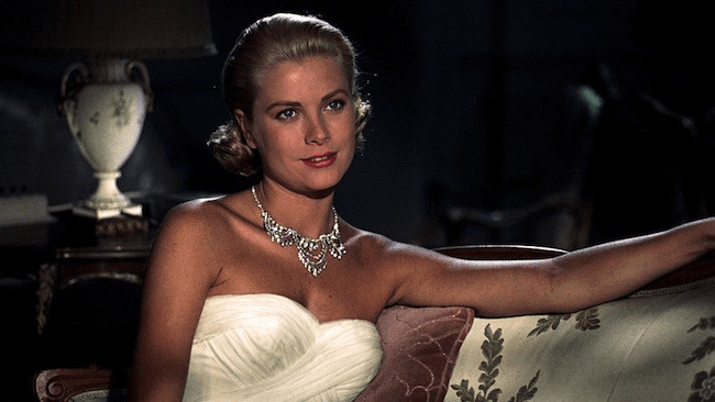 grace kelly to catch a thief