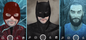 justice league facebook ar