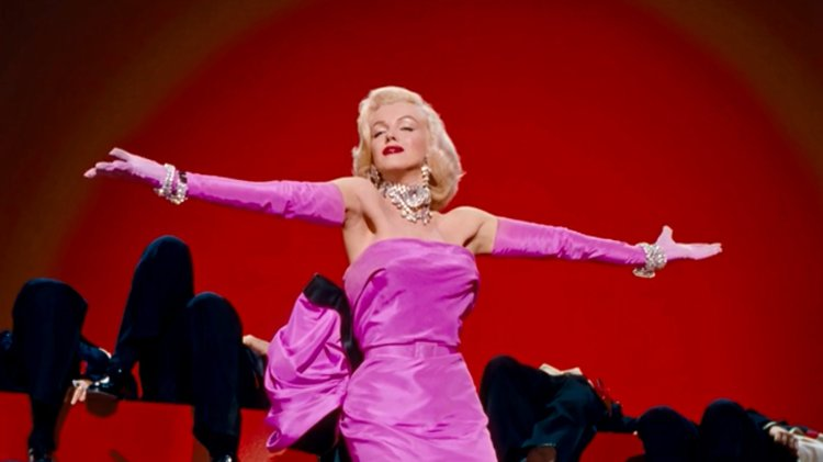 marilyn monroe gentlemen prefer blondes