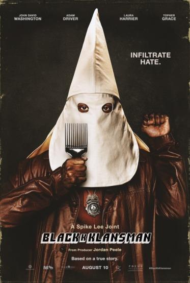 blackkklansman poster 1