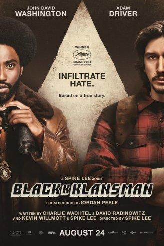 blackkklansman poster 2