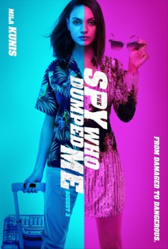 the spy who dumped me poster 3