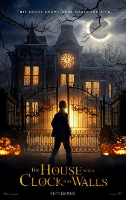 house with a clock in its walls poster 1