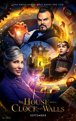 house with a clock in its walls poster 2