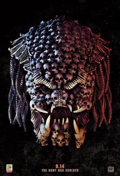 the predator poster comic-con