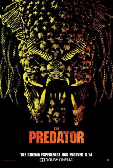 the predator poster dolby
