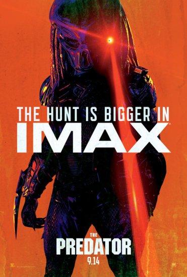 the predator poster imax
