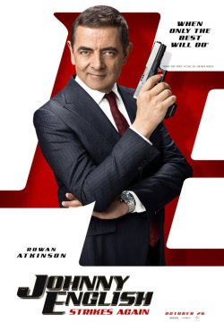 johnny english strikes again poster 2