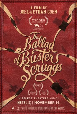 ballad of buster scruggs poster 2