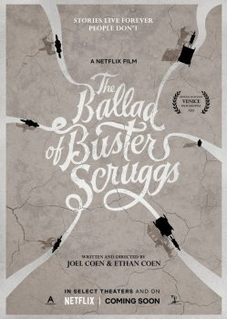 ballad of buster scruggs poster