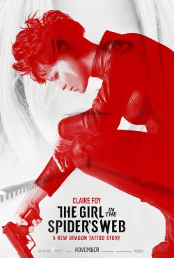 girl in the spiders web poster 2