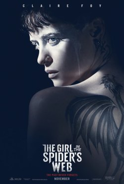 girl in the spiders web poster