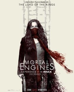 mortal engines poster imax