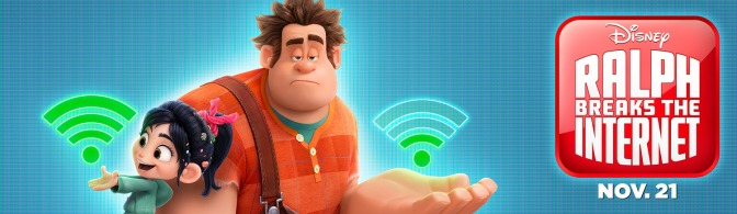 ralph breaks the internet poster banner