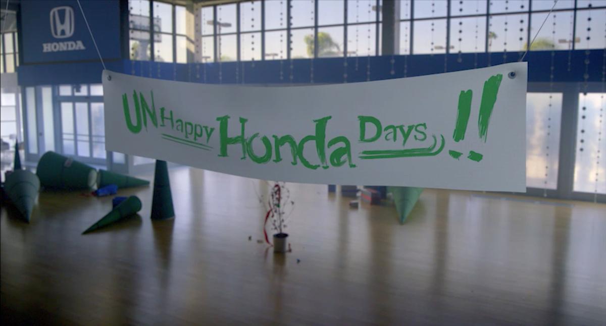 Honda Gets Grinch-y