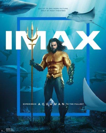 aquaman imax poster