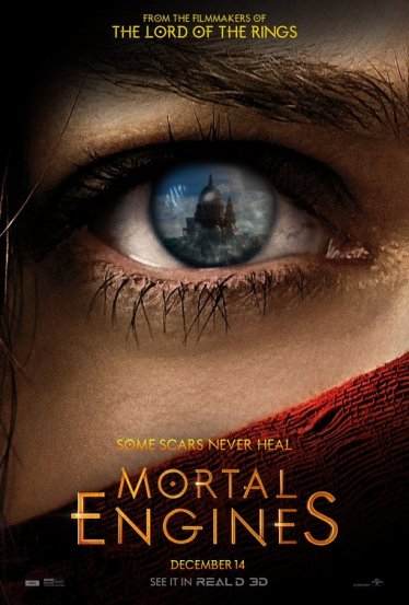 mortal engines poster real3d