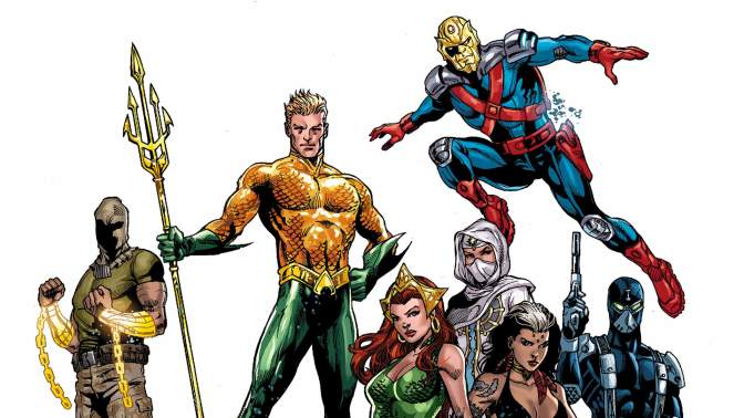 aquaman and the others pic