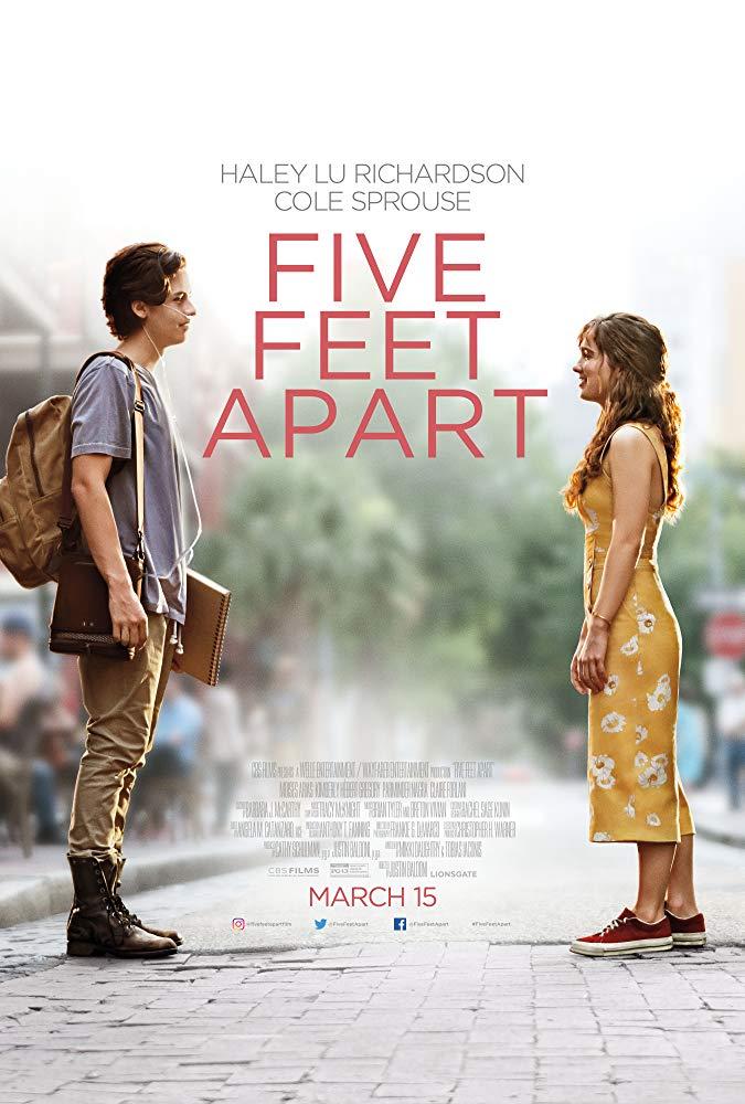 five feet apart poster 2