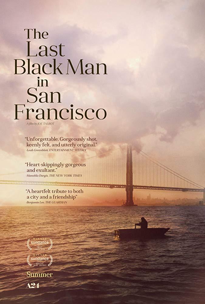 last black man in san francisco poster