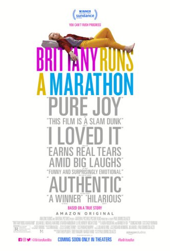 brittany runs a marathon poster 2