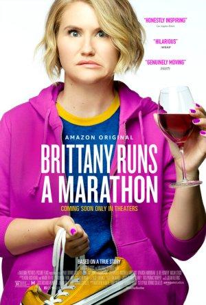 brittany runs a marathon poster 3