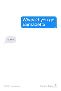 whered you go bernadette teaser poster