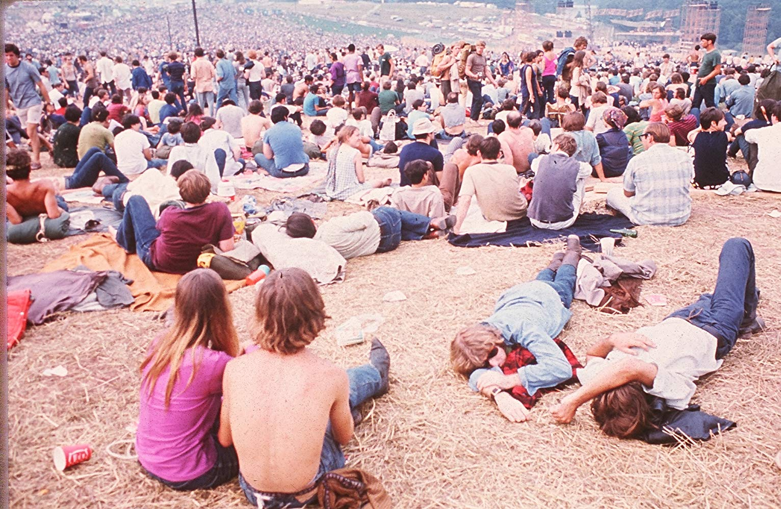Charlton Heston Introduced Me to Woodstock