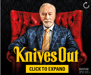 knives out online ad